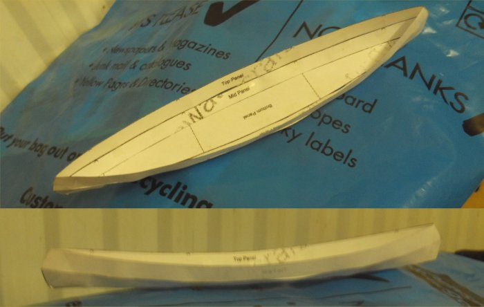 how to make an origami canoe